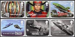 GRANDE-BRETAGNE F.A.B. De G. Anderson - Thunderbirds 6v 2011 Neuf ** MNH - Nuevos