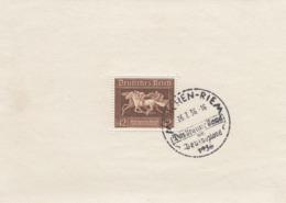 Deutsches Reich, 42 Pfg. Braunes Band, MiNr. Block 4, Gestempelt - Deutschland