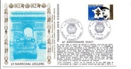 SECONDE GUERRE MARECHAL LECLERC PARIS CHAMPS ELYSEES - WW2
