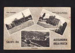 12225 - Alessandria Della Rocca - Villa Comunale ; Santuario Di Maria SS Della Rocca E Collegio Dei PP Passionisti ; Pan - Agrigento