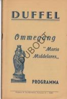 DUFFEL Ommegang Maria Middelares 1937  (R267) - Oud