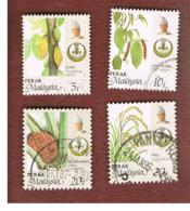 MALESIA: PERAK (MALAYSIA) -  SG 200.204  -  1986   AGRICULTURAL PRODUCTS - USED ° - Malesia (1964-...)
