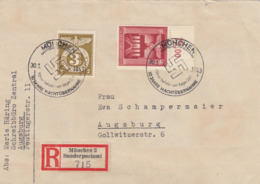 Deutsches Reich,  Einschreibebrief Aus München Mit MiNr. 529 Und 830 - Deutschland