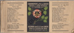 LAKEN - Kroning Van OLV Van Laeken, Stoet Van De Geestelijke Roos - 1935 - Met Talrijke Illustraties   (R248) - Vecchi