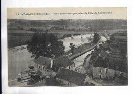 36 - SAINT-GAULTIER ( Indre ) - Vue Panoramique Prise De L' Ecole Supérieure. - Autres Communes