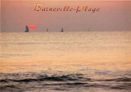 Dép 50 - Barneville Plage - Coucher De Soleil - Moderne Grand Format - Bon état - Barneville