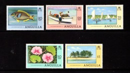 ANGUILLA    1977    Various  Designs    Part  Set  Of  4    MNH - Anguilla (1968-...)