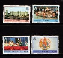 ANGUILLA    1978    25th  Anniv  Of  Coronation  Set  Of  4    MNH - Anguilla (1968-...)