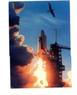 Carte  Cape Canaveral Space Shuttle Flamme Muette Sur Mankind - Autres