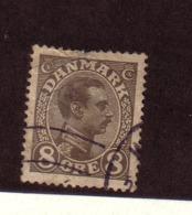 DANEMARK 1919/20  YVERT N°106  OBLITERE - 1913-47 (Christian X)