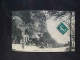 Carte Postale Ancienne De Rogerville- Route De Tancarville (Café Pissotière) - Frankreich