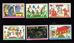 ANGUILLA    1979    International  Year  Of  The  Child  Set  Of  6    MNH - Anguilla (1968-...)