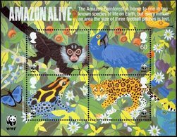 GRANDE-BRETAGNE Bloc WWF Animaux/Europa 2011 Neuf ** MNH - Nuevos