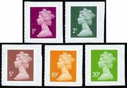GRANDE-BRETAGNE Courants Petites Valeurs 5v 2011 Neuf ** MNH - 1952-.... (Elizabeth II)