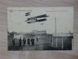 Péronnes-Binche - N°1 - Champs D'aviation (du 30 Avril Au 15 Mai 1911) - Circulé: 1912 - Voir 2 Scans - Binche