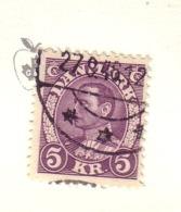 DANEMARK 1933/37 YVERT N°226 OBLITERE - 1913-47 (Christian X)