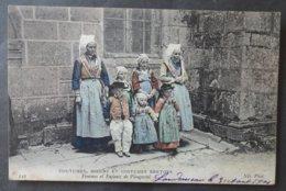 CPA 29 - CMCB 342 - Femmes Et Enfants De PLOUGASTEL - Colorisée (rare) - Coutumes, Moeurs Et Costumes Bretons - Plougastel-Daoulas
