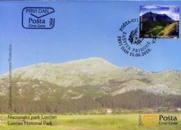 2019, FDC, Nature Protection, National Park Lovćen, Montenegro, MNH - Montenegro