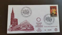Enveloppe  Tirage Limité Numéroté 1 à 600 - Transmission Cholinergique N° 255 - Année 1982 -timbre N° 2206 - - Cartas