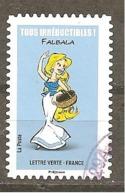 FRANCE 2019 Y T N °????  FALBALA Oblitéré Cachet Rond - Used Stamps