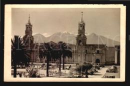 Chile Tarjeta Postal Real Photo Postcard Cathedral ( Peru Bolivia  ?)  W5-735 - Cile