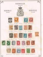 Norvège. Norway Ancienne Collection. Old Collection. Altsammlung. Oude Verzameling - Verzamelingen (zonder Album)