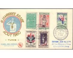 Ref. 383374 * MNH * - TUNISIA. 1960. 4th ARAB JAMBOREE IN TUNIS . 4 JAMBOREE ARABE EN TUNEZ - Tunisia (1956-...)