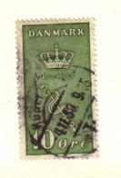 DANEMARK 1929  YVERT N°190  OBLITERE - 1913-47 (Christian X)