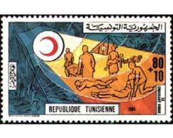 Ref. 366328 * MNH * - TUNISIA. 1984. CRUZ ROJA TUNECINA - Red Cross