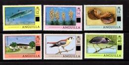 ANGUILLA    1979    Various  Designs    Overprint    Set  Of  6    MNH - Anguilla (1968-...)