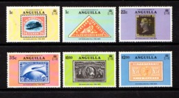 ANGUILLA    1979    Death  Centenary  Of  Sir  Rowland  Hill    Set  Of  6    MNH - Anguilla (1968-...)