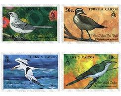 Ref. 299288 * MNH * - TURKS AND CAICOS Islands. 1990. INDIGENOUS BIRDS . AVES AUTOCTONAS - Turks E Caicos