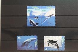 Australische Gebiete In Der Antarktis 102-105 ** Postfrisch Wale Delfin #SZ587 - Territoire Antarctique Australien (AAT)