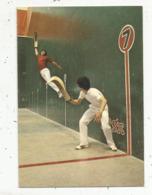 Cp , Sports , Jeu De Pelote Basque CESTA PUNTA ,  Fronton BIARRITZ EUSKAL JAÏ , Vierge - Autres