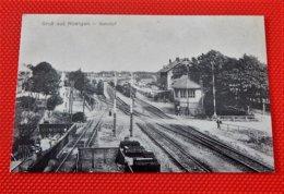 ROETGEN  -  Gruss Aus Roetgen  - Bahnhof  (1915) -  (Reproduktion) - Germany
