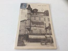 46 - FIGEAC Place Carnot écrite Timbrée - Figeac