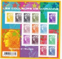 F 4409(2009) Neuf  Marianne Et L'Europe - Bloc De Notas & Hojas
