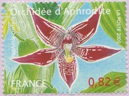 N° Yvert & Tellier 3766 - Timbre De France (Année 2005) - MNH - Série Nature - Orchidée (Orchidée D'Aphrodite) - France