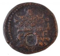 Szíria / Szeleukisz Kr. E. ~48-36. AE Tetrachalkon, Előlapján Női Portrés Ellenjegy (VII. Kleopátra?) (13,3g) T:2-,3 /   - Munten & Bankbiljetten