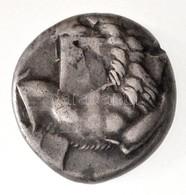 Tauriké / Kherszonészosz Kr. E. ~480-350. Hemidrachma Ag (2,36g) T:2 Ph. /  Taurica / Chersonesos ~480-350. BC Hemidrach - Munten & Bankbiljetten