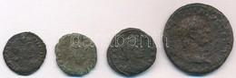 Római Birodalom 4db-os Vegyes Római Rézpénz Tétel A Kr. U. III-IV. Századból T:3,3- Roman Empire 12pcs Of Various Roman  - Munten & Bankbiljetten