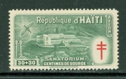 Tuberculose / Tuberculosis. Haïti; Timbre Scott Stamp # CB-3; Neuf, Trace De Charnière / Mint, Trace Of Hinge (8193) - Haiti