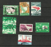 Syrie Poste Aérienne N°153 à 157, 159, 160 Cote 3.45 Euros - Syria