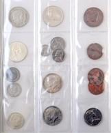 210db-os Vegyes Magyar és Külföldi érmék, Több Ezüsttel, Közte 1994. 200Ft Ag 'Deák', új éremtartó Albumban, Sok Szép Ta - Munten & Bankbiljetten