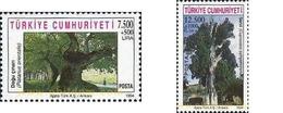 Ref. 173666 * MNH * - TURKEY. 1994. MONUMENTAL TREES . ARBOLES MONUMENTALES - Gebruikt