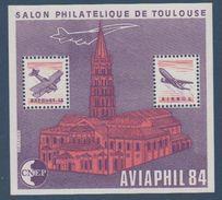 CNEP-1984-N°5A** AVIAPHIL.Salon Philathélique De TOULOUSE. - CNEP