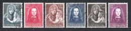 Luxembourg 1950 : Timbres Yvert & Tellier N° 433 - 434 - 435 - 436 - 437 Et 438 Oblit. - Used Stamps