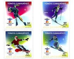 Ref. 248341 * MNH * - TURKEY. 2010. 21st WINTER OLYMPIC GAMES. VANCOUVER 2010 . 21 JUEGOS OLIMPICOS INVIERNO VANCOUVER 2 - Winter 2010: Vancouver