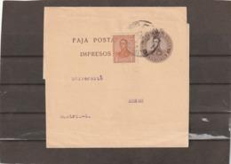 Argentina NEWSPAPER WRAPPER TO Austria Zagreb Croatia - Interi Postali