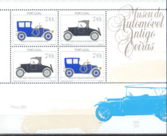 Año 1992 Hoja Nº 84 Museo Del Automovil - Blocks & Sheetlets